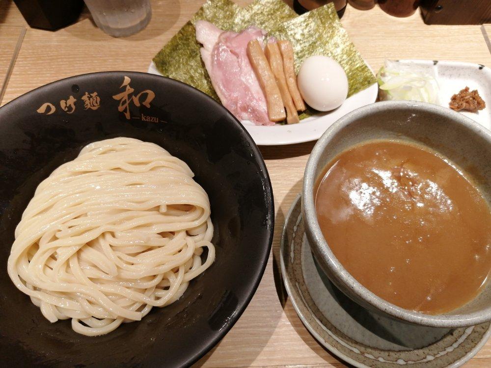つけ麺 和の特製つけ麺