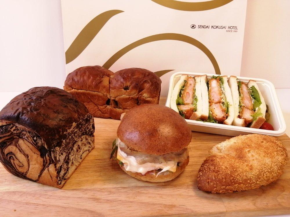 仙台国際ホテルのパン