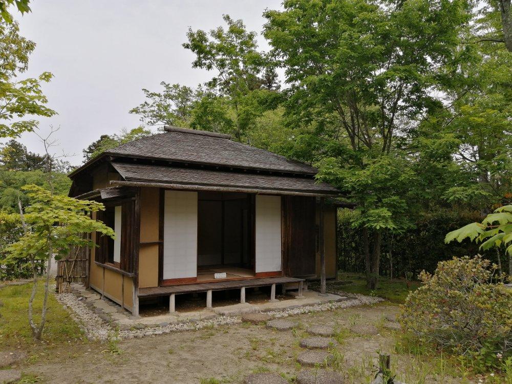 仙台市博物館の残月亭