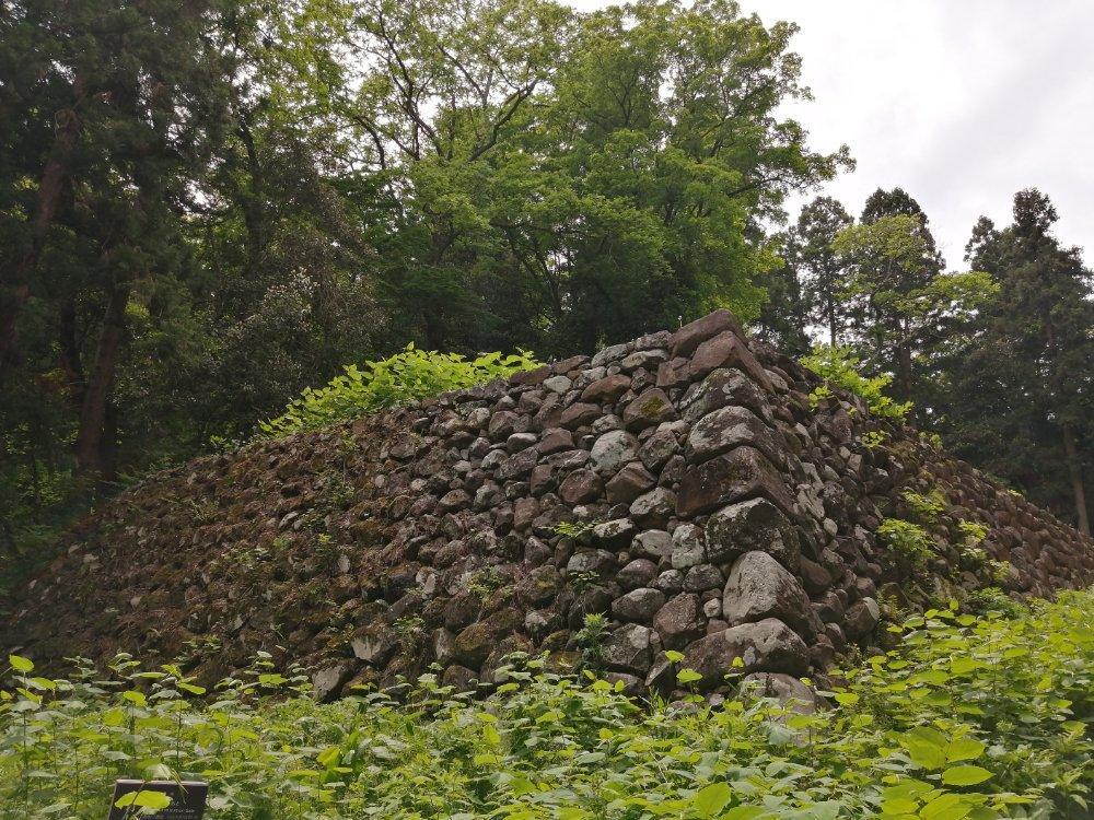 仙台城址の石垣