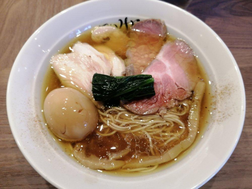 仙臺自家製麺こいけ屋 特肉川俣シャモ中華そば