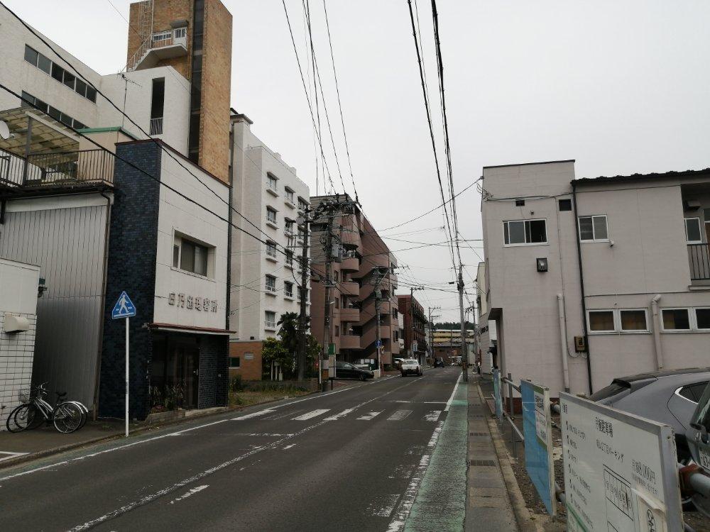 向山の通り