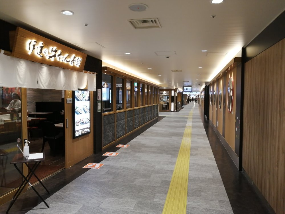 仙台駅牛タン通り2020年6月