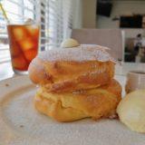 ボールパーク仙台のパンケーキ