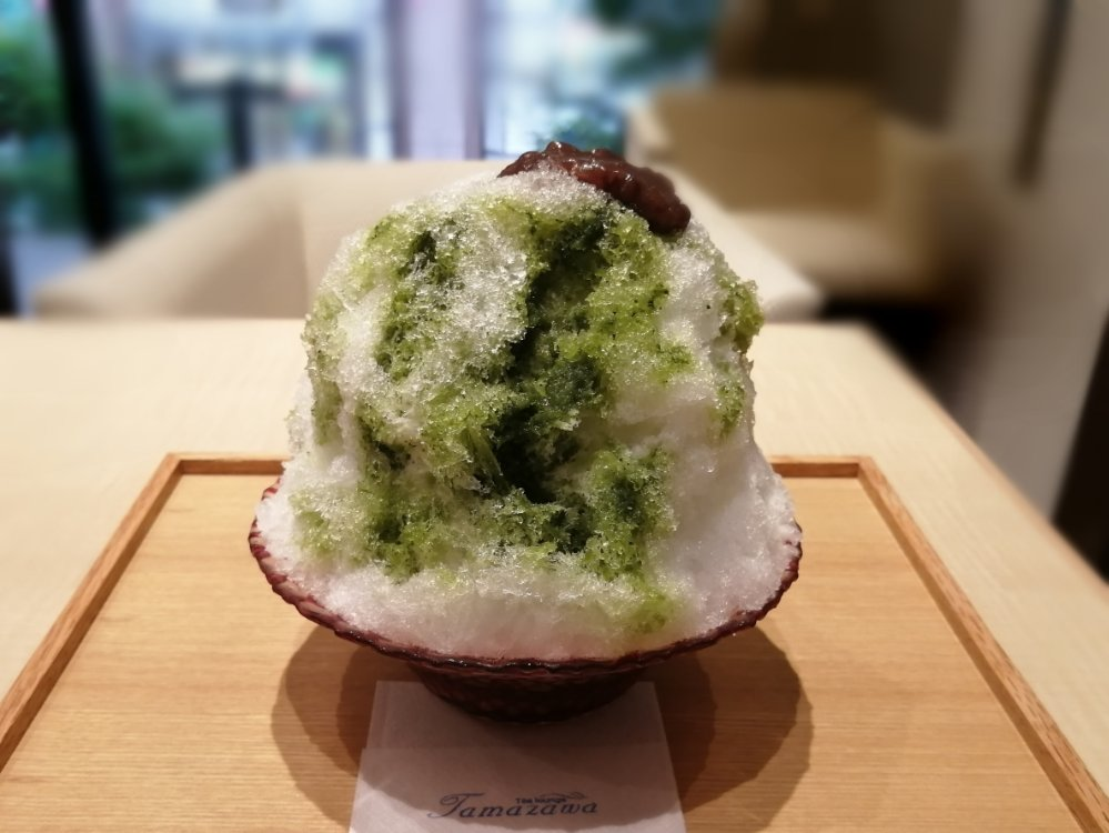 玉澤総本店のかき氷