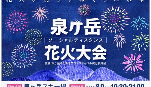 【朗報】東北唯一の花火大会が8月9日開催|宮城県仙台市の泉ヶ岳スキー場で