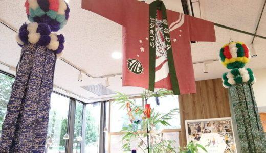 リビットギャラリーで仙台七夕祭りの飾りを展示中!短冊にお願い事も書いて来ました