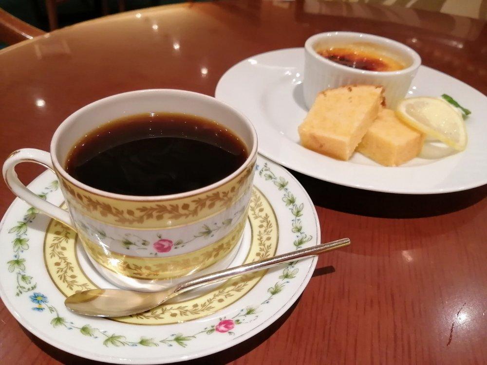 ホシヤマ珈琲店アエル店のコーヒー