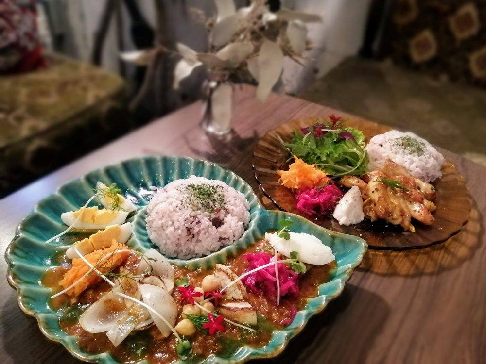 カフェシアンのボタニカル料理