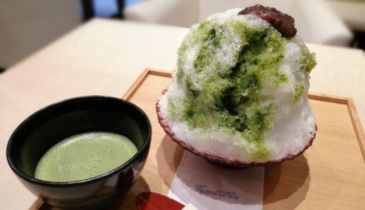 玉澤総本店の喫茶室が予想以上の華やかさ!仙台一番町店でかき氷とお抹茶を満喫