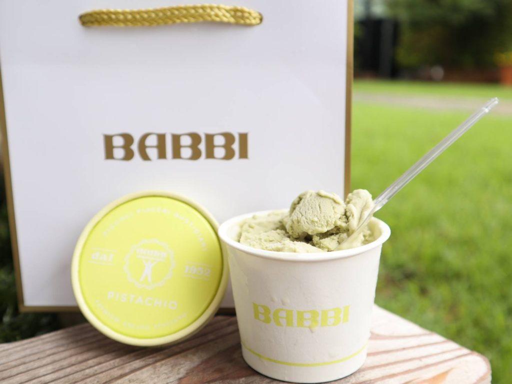 BABBIのカップジェラート