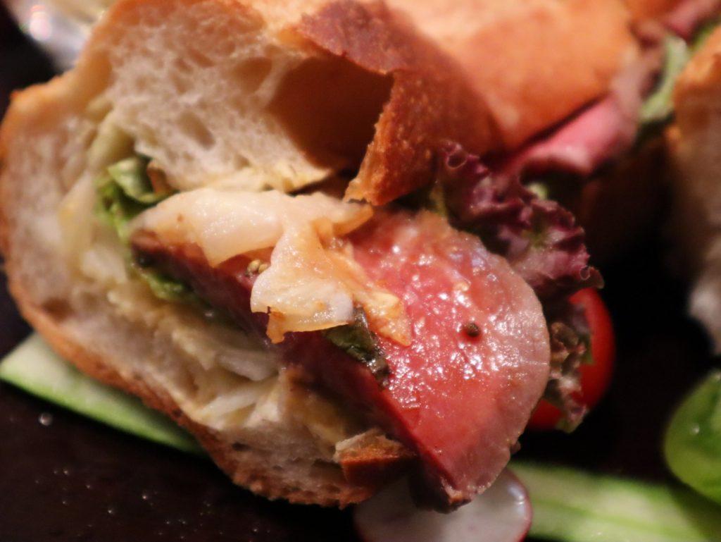 サンドイッチの仙台牛