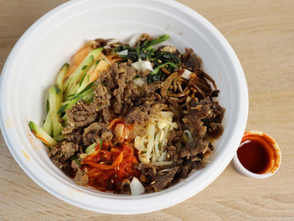 韓国料理プヨのビビンバ