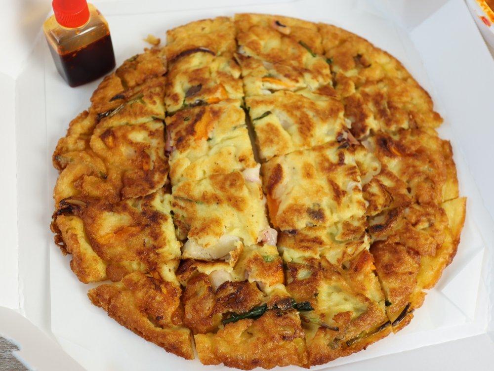 韓国料理プヨのチヂミ
