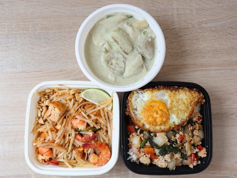ThaChangのタイ料理3種