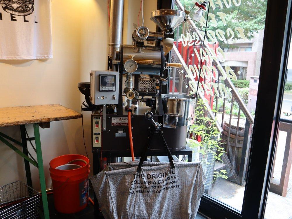 SENDAI COFFEE STANDの焙煎機