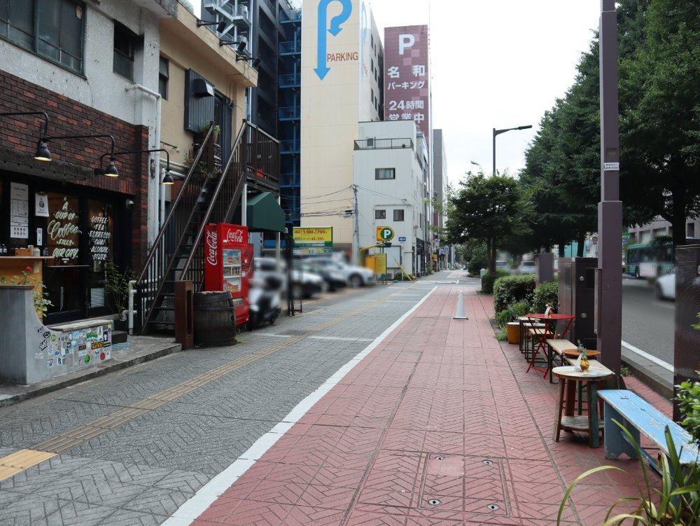 SENDAI COFFEE STAND近くのパーキング