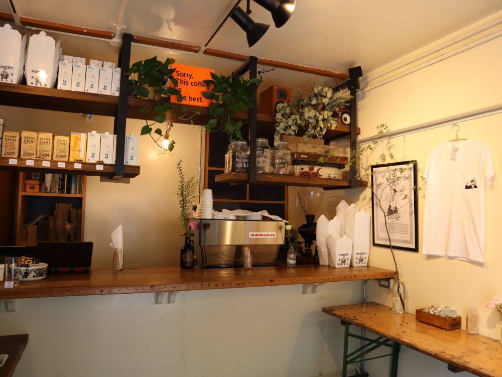 SENDAI COFFEE STANDの店内