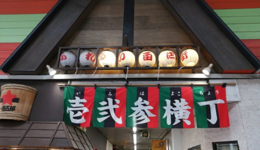 【リアルレポ】仙台最大の横丁『いろは横丁』と『文化横丁』の美味しかったお店10選
