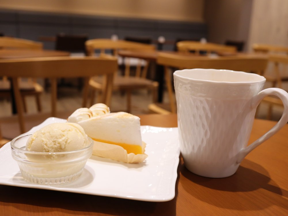 タリーズコーヒー&TEAでカフェ