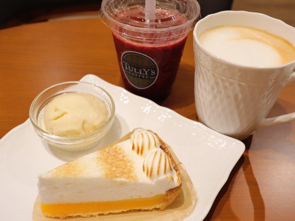タリーズコーヒー&TEAエスパル仙台店でカフェタイム