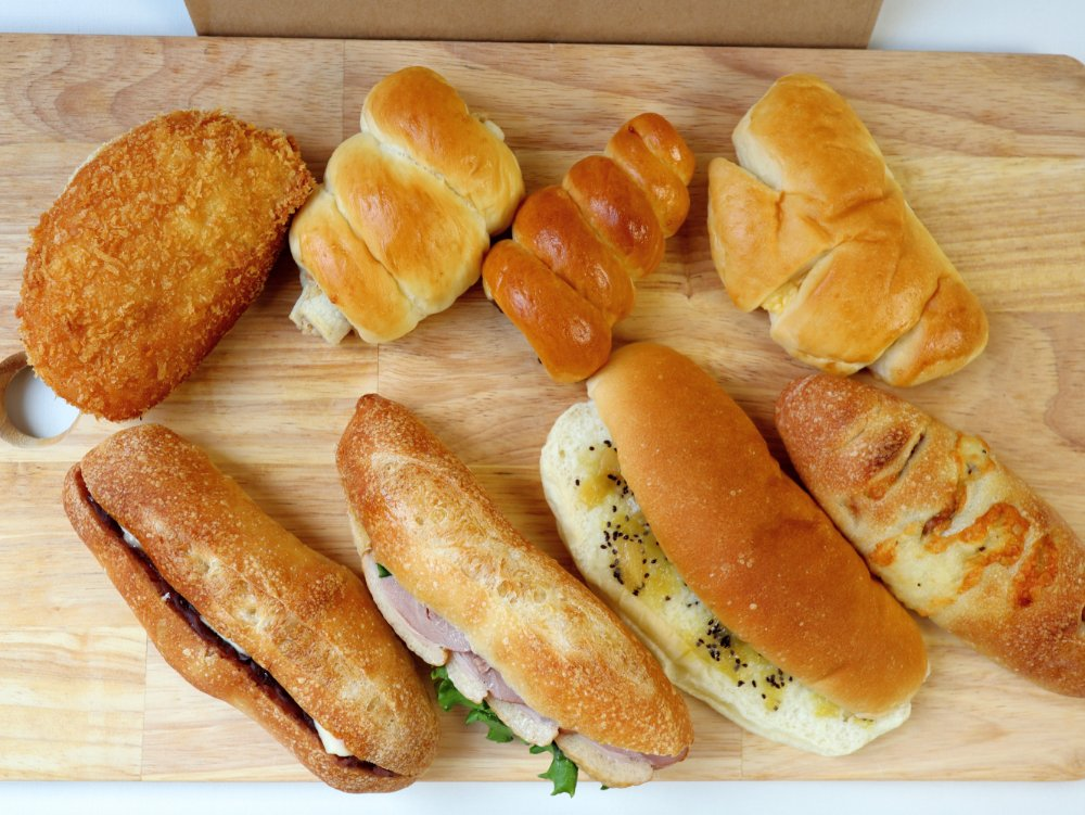 パーシモンのパン8種購入