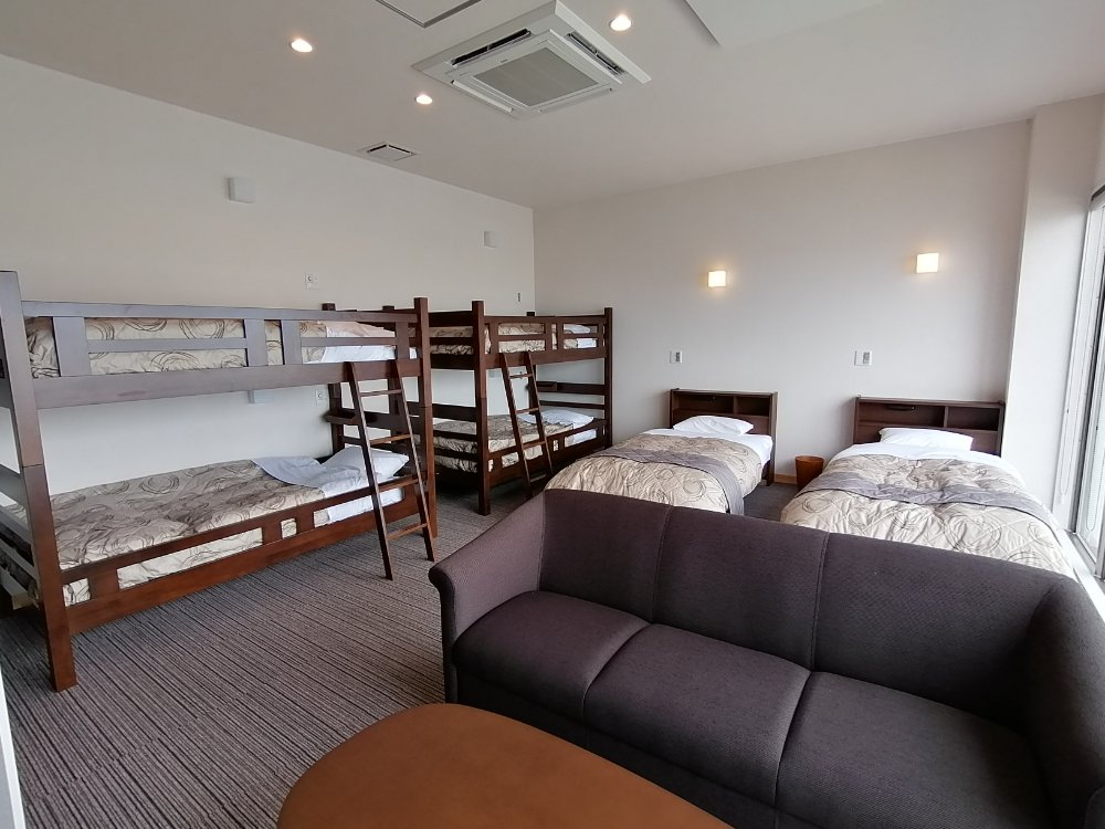 輸りんの宿 2段ベッドの部屋