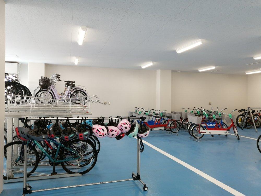 名取市サイクルスポーツセンター レンタルバイク