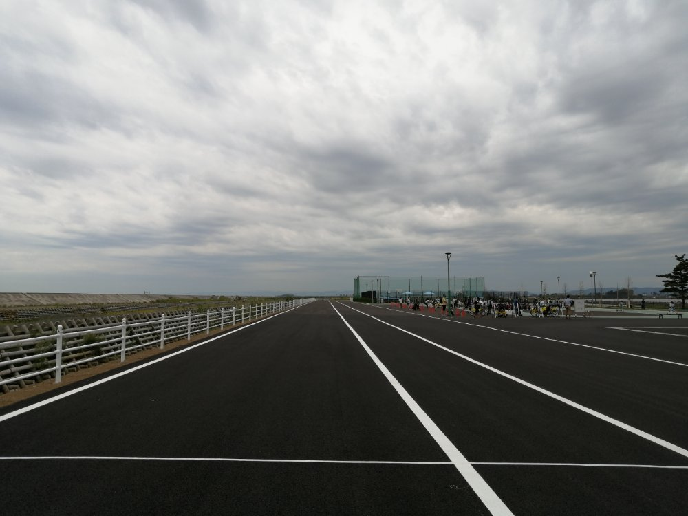 名取市サイクルスポーツセンターのサイクルロード