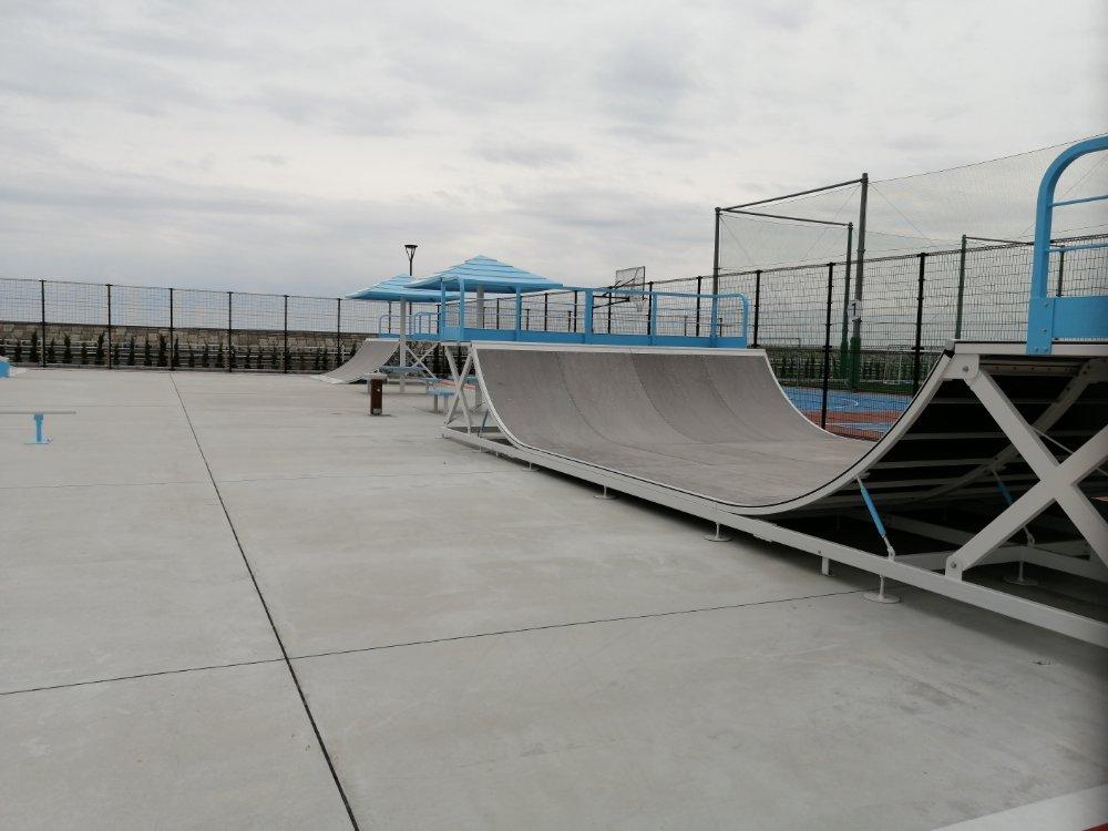 名取市サイクルスポーツセンター スケートパーク