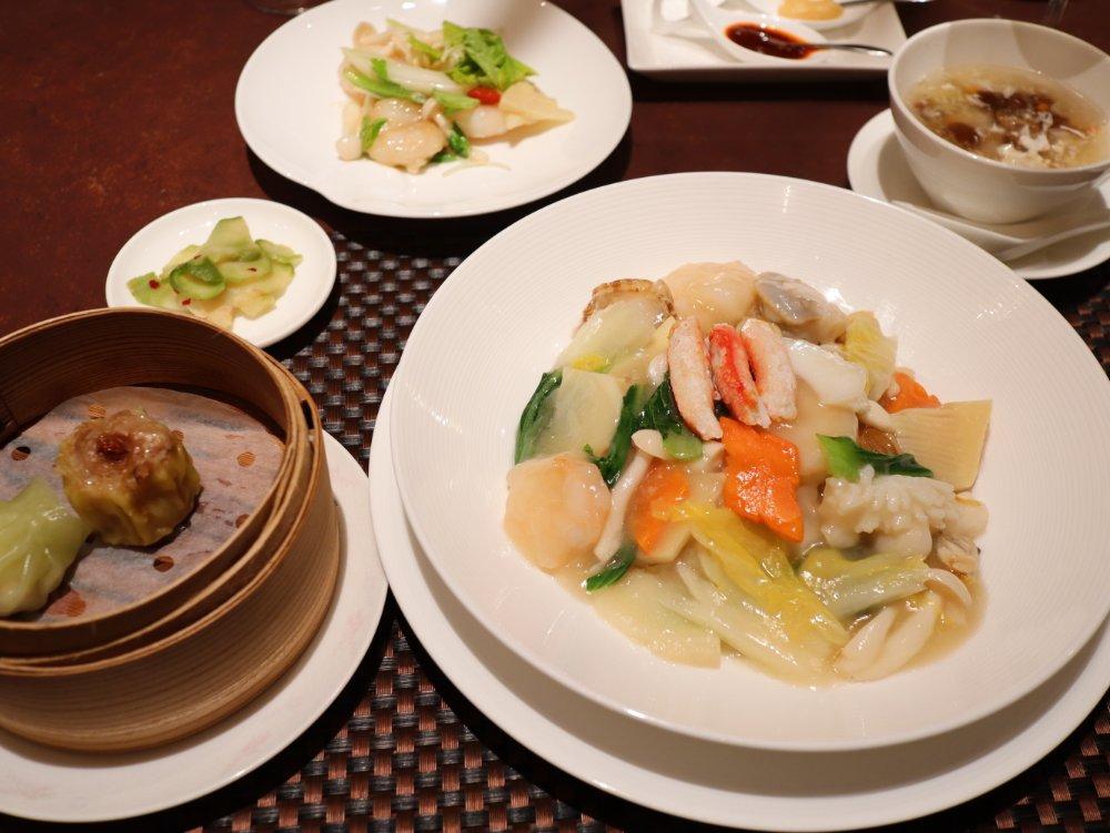 桃李で中華ランチ