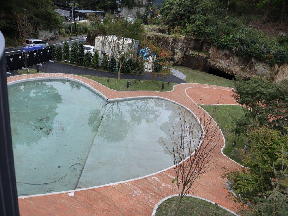 松島離宮 ハート型プール