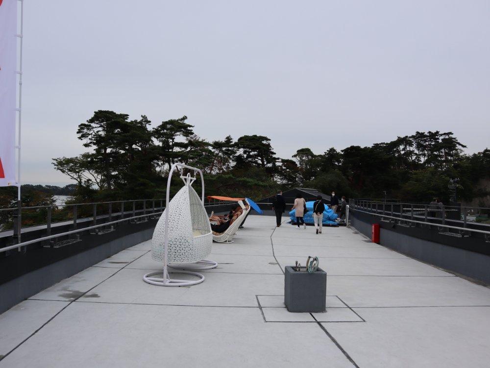 松島離宮 屋上庭園 天空のピクニック