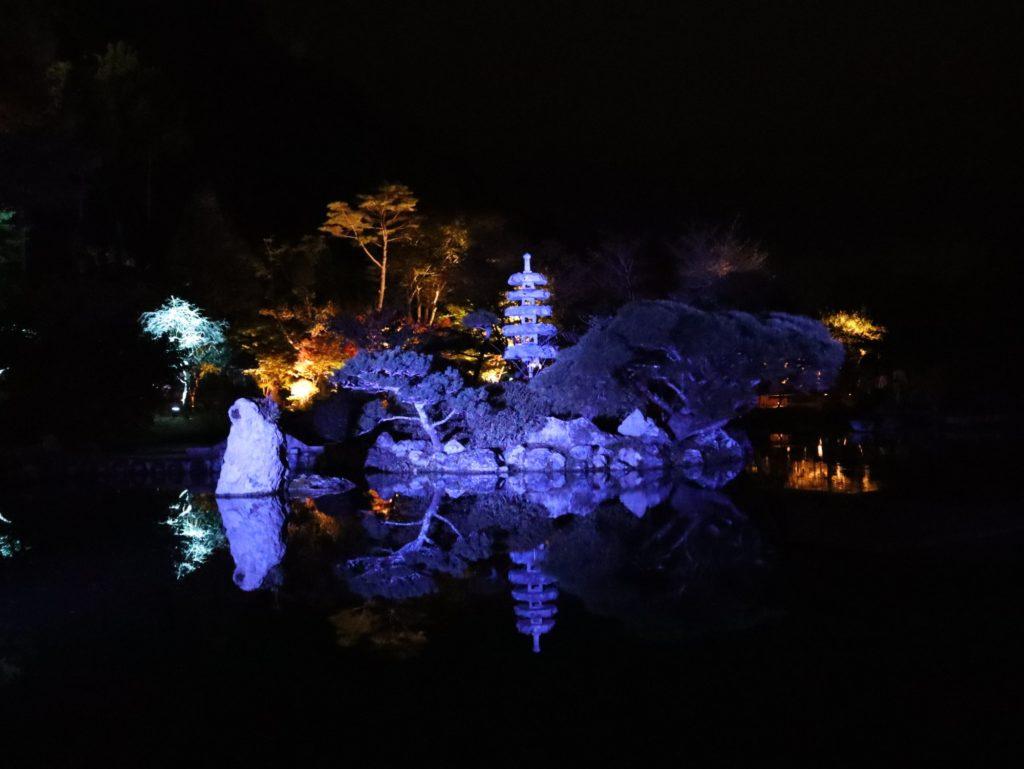 天守閣自然公園 五重の塔