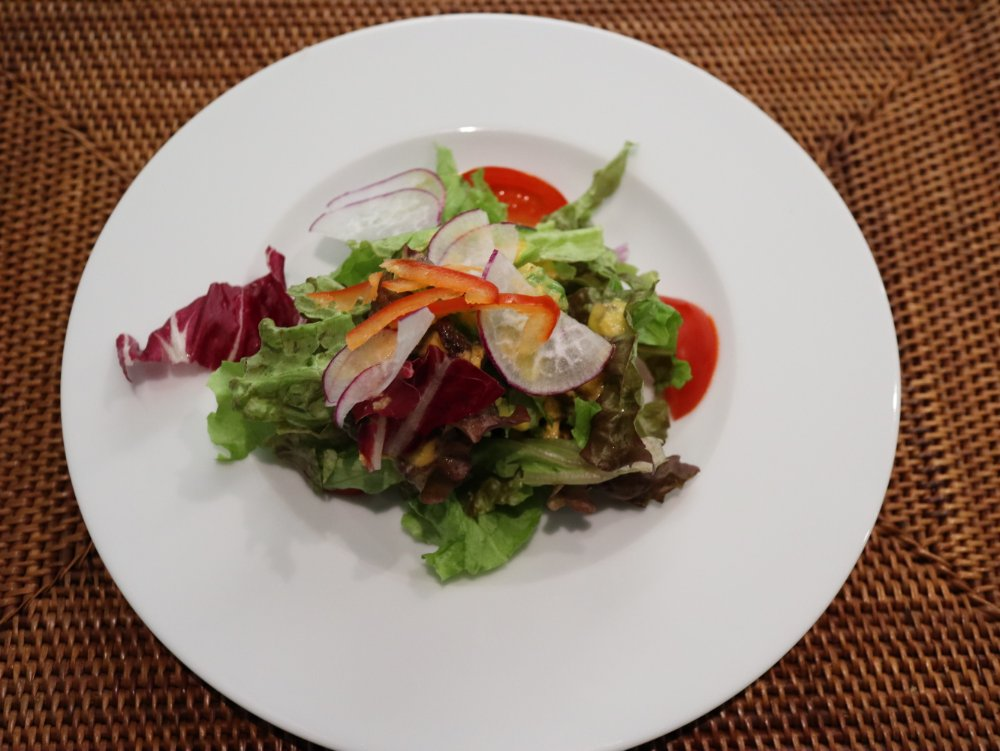 地場野菜のガーデンサラダ