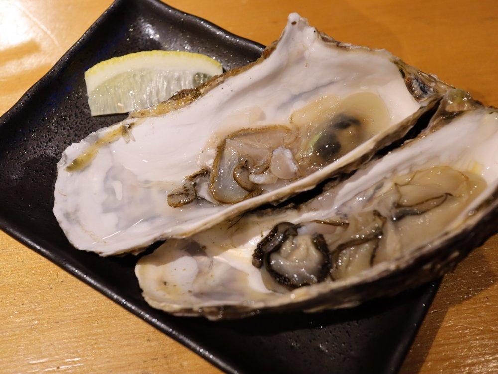 きよゑ食堂の牡蠣