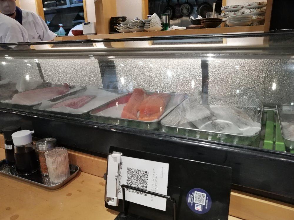 鮮魚ケース
