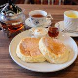 高倉町珈琲のパンケーキモーニング