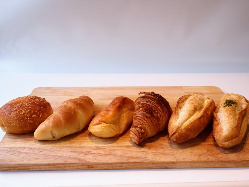 石井屋のパン6種