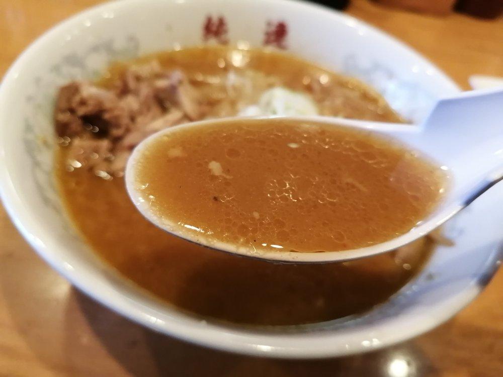 生姜入り味噌スープ