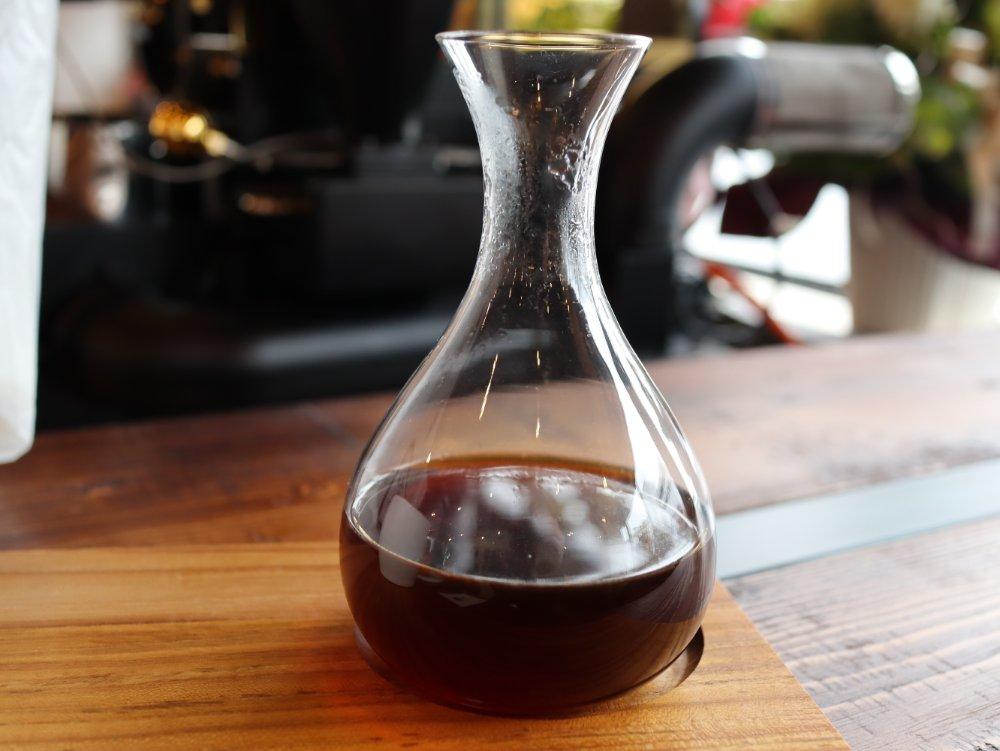 2杯目のサイフォンコーヒー