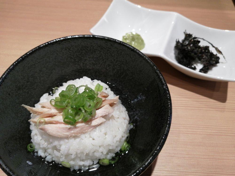 すみ田の鶏茶漬け