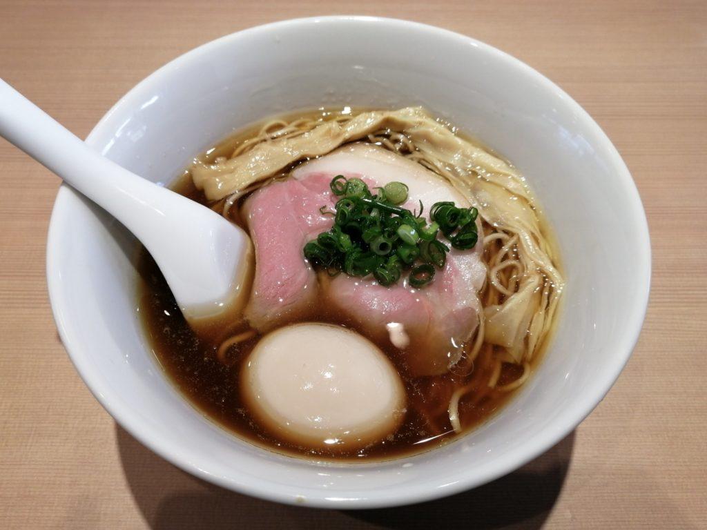 らぁ麺すみ田醤油ラーメン