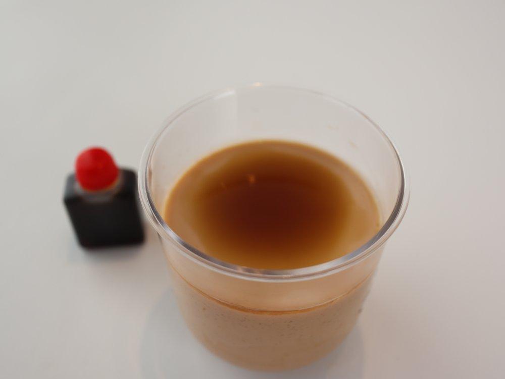 榮玉堂のほうじ茶プリン