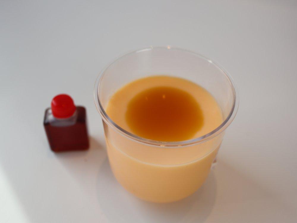 榮玉堂のカスタードプリン