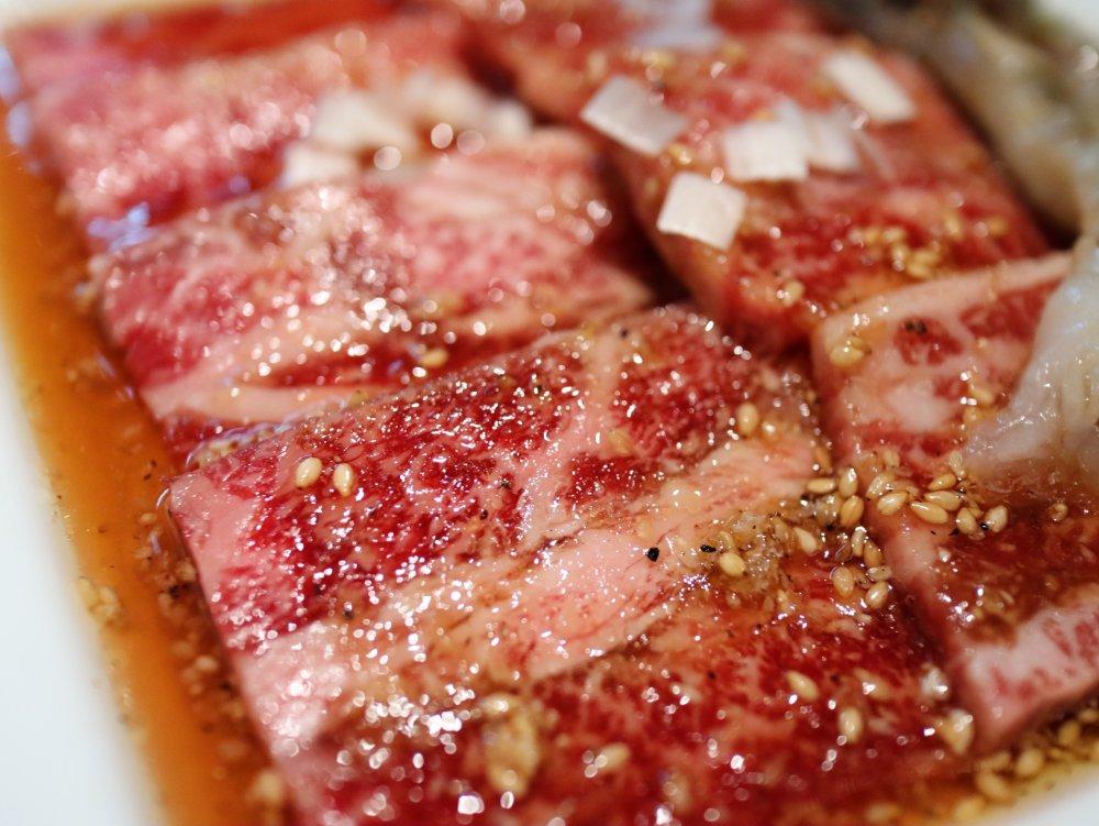 叙々苑のお肉