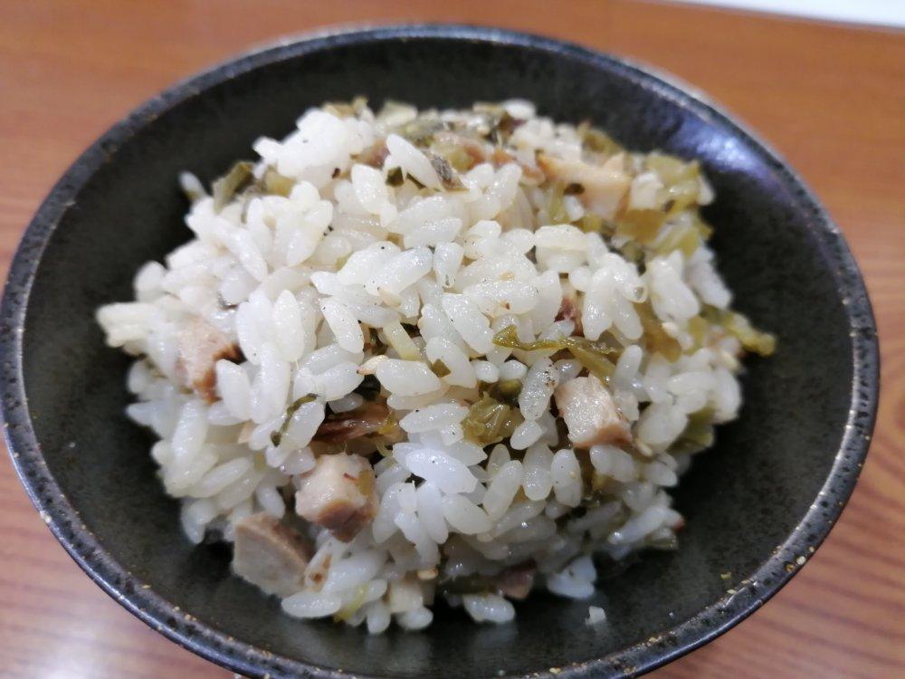中華そばかんじの高菜ご飯