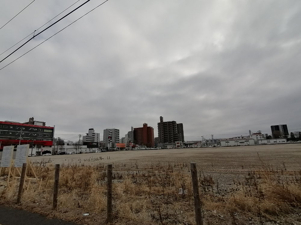卸町の日本通運倉庫跡地
