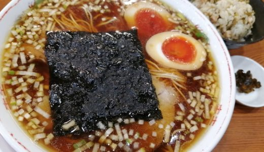 【ラーメン日記】若林区の『中華そばかんじ』で中華そばと高菜ご飯うまし