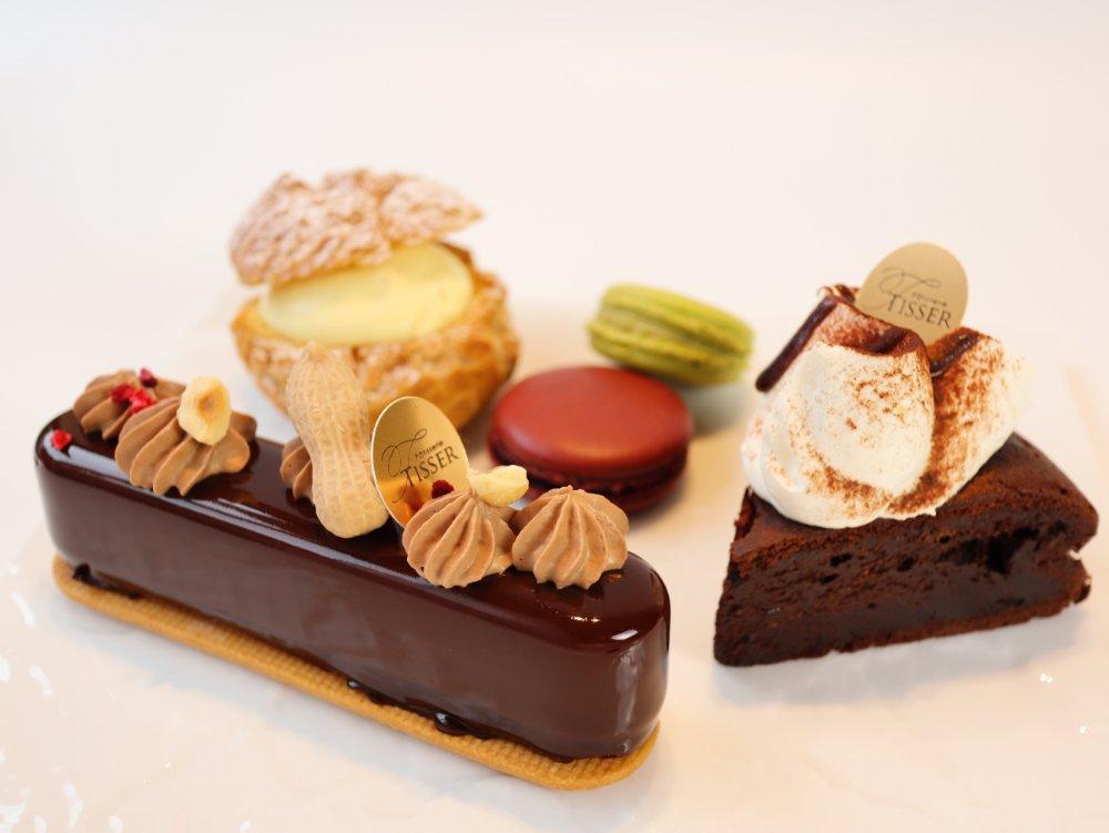 パティスリーティッセのフランス菓子